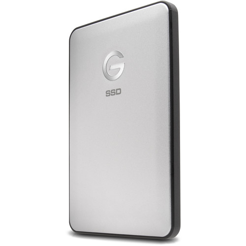 G-Technology 500GB G-DRIVE slim USB 3.1 Type-C External SSD