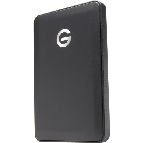G-Technology 1TB G-DRIVE USB 3.1 Gen 1 mobile Hard Drive with USB Type-C and USB Type-A Cables (Black)