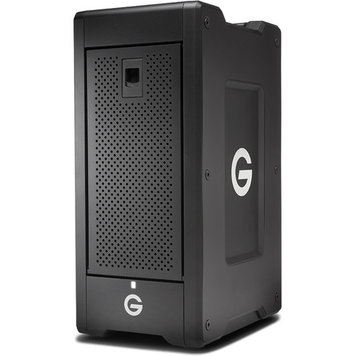 G-Technology G-SPEED Shuttle XL 24TB 8-Bay Thunderbolt 3 RAID Array with Two ev Bay Adapters (6 x 4TB)
