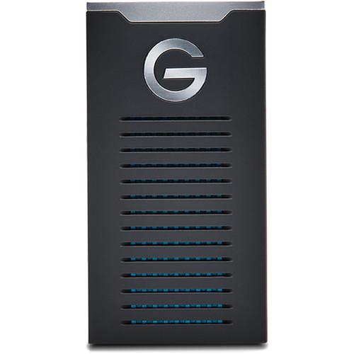 G-Technology 500GB G-DRIVE R-Series USB 3.1 Gen 2 Type-C mobile SSD