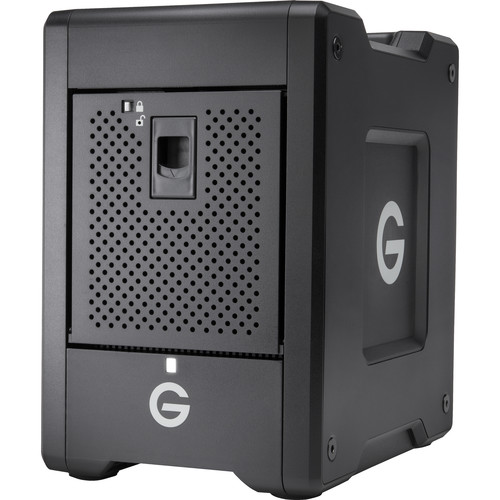 G-Technology G-SPEED Shuttle 24TB 4-Bay Thunderbolt 3 RAID Array with Two ev Bay Adapters (2 x 12TB)