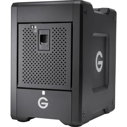 G-Technology G-SPEED Shuttle 24TB 4-Bay Thunderbolt 3 RAID Array with Two ev Bay Adapters (2 x 12TB)