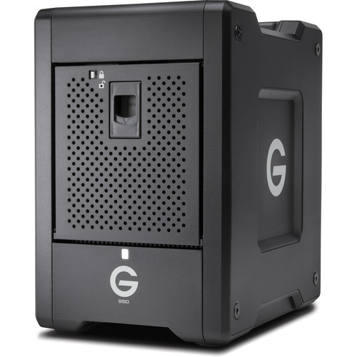 G-Technology 16TB G-SPEED Shuttle 8-Bay Thunderbolt 3 SSD RAID Array (8 x 2TB)