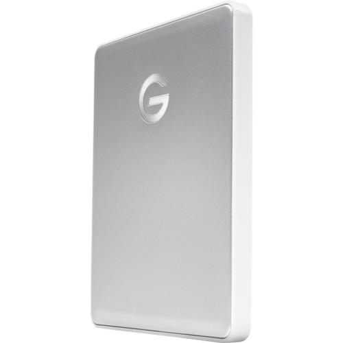 G-Technology 1TB G-DRIVE mobile USB 3.1 Gen 1 Type-C External Hard Drive (Silver)