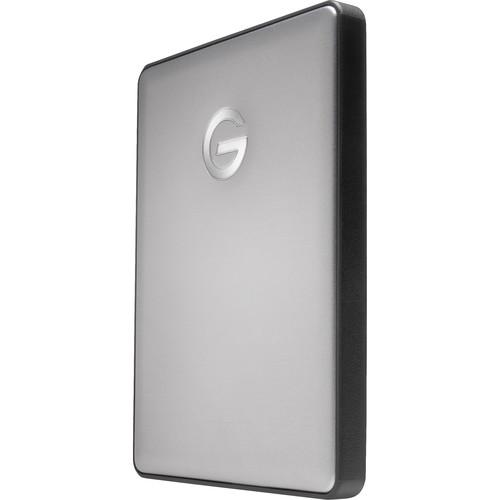 G-Technology G-DRIVE mobile USB-C Portable Hard Drive (1TB, Space Gray)