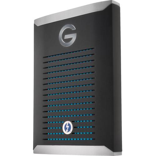 G-Technology 500GB G-DRIVE mobile Pro Thunderbolt 3 External SSD