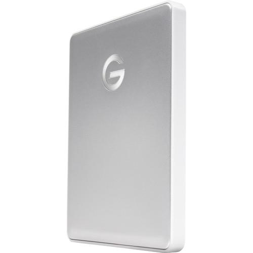 G-Technology 2TB G-DRIVE mobile USB 3.1 Gen 1 Type-C External Hard Drive (Silver)