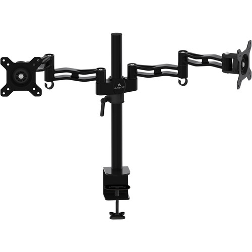 Gabor MD-BD13B Dual-Monitor Desktop Mount with Articulating Arms (Black)