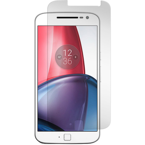 Gadget Guard Black Ice Edition Tempered Glass Screen Protector for Motorola Moto G Plus (4th Gen.)