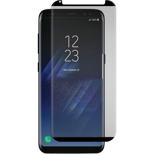 Gadget Guard Black Ice+ Cornice Edition Tempered Glass Screen Protector for Galaxy S8+