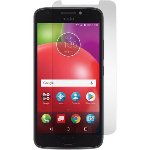 Gadget Guard Black Ice+ Edition Tempered Glass Screen Protector for Motorola Moto E (4th Gen.)