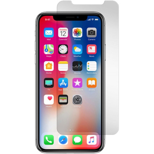 Gadget Guard Black Ice Edition Tempered Glass Screen Protector for iPhone X/XS