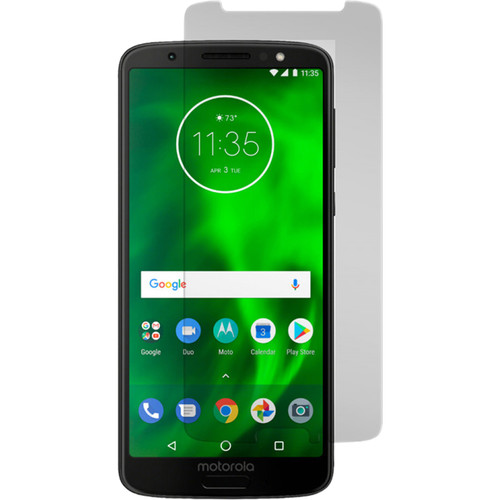 Gadget Guard Black Ice Edition Tempered Glass Screen Protector for Motorola Moto G6
