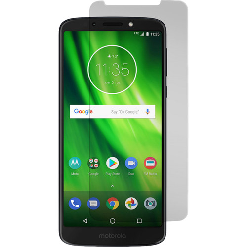 Gadget Guard Black Ice Edition Tempered Glass Screen Protector for Motorola Moto G6 Play