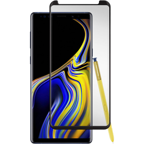 Gadget Guard Black Ice+ Cornice 2.0 Edition Tempered Glass Screen Protector for Galaxy Note9