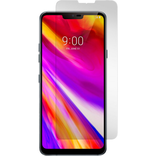 Gadget Guard Black Ice+ Tempered Glass Screen Protector for LG G7 ThinQ