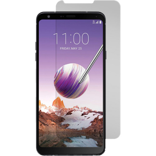 Gadget Guard Black Ice+ Tempered Glass Screen Protector for LG Stylo 4