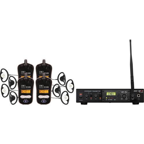 Galaxy Audio Galaxy Audio ALS-RMBPR-4 Assistive Listening System with AS-EC1