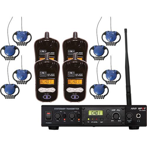 Galaxy Audio Galaxy Audio ALS-RMBPR-4 Assistive Listening System with AS-EC2
