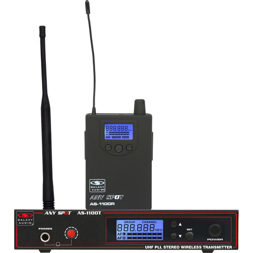 Galaxy Audio AS-1100N Wireless Personal Monitor System