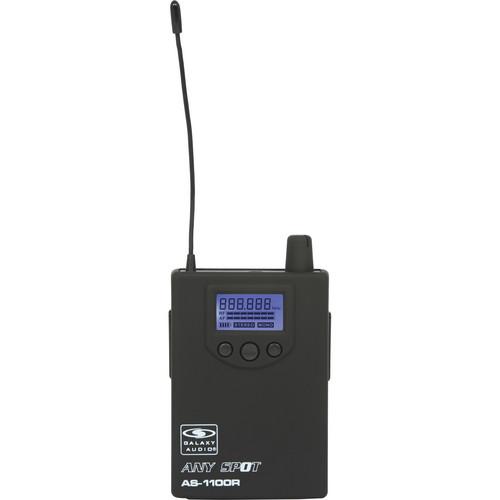 Galaxy Audio AS-1100R Wireless Bodypack Receiver