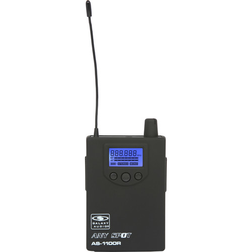 Galaxy Audio AS-1100RN Bodypack Receiver with EB3 Ear Bud