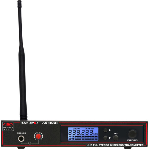 Galaxy Audio AS-1100TN Wireless Monitor Transmitter