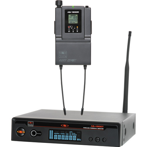 Galaxy Audio AS-1800 Wireless Personal Monitor System