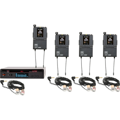 Galaxy Audio AS-1806-2B3 Wireless In-Ear Twin Pack Monitor System (B3: 554 to 570 MHz)
