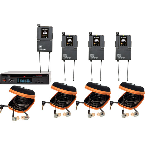 Galaxy Audio AS-1810-2B3 Wireless In-Ear Twin Pack Monitor System (B3: 554 to 570 MHz)