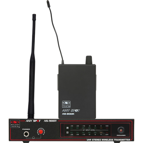 Galaxy Audio AS-900N6 Any Spot Series Wireless Personal Monitoring System (N Band, 527.55 MHz)