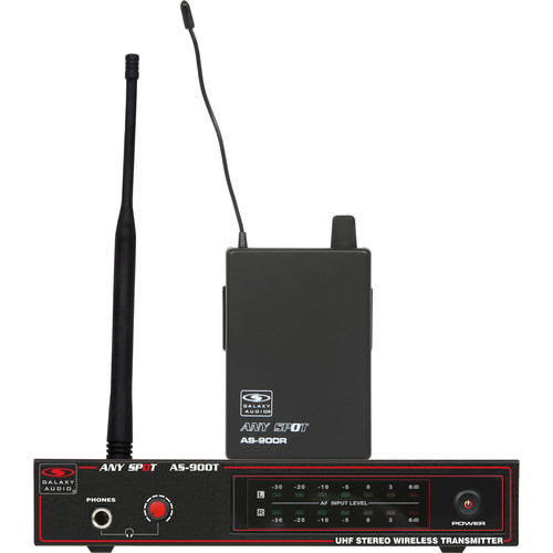 Galaxy Audio AS-900N9 Any Spot Series Wireless Personal Monitoring System (N Band, 538.8 MHz)