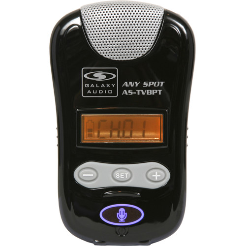 Galaxy Audio 24 MHz 16/96 Channel UHF Compact Wireless Transmitter