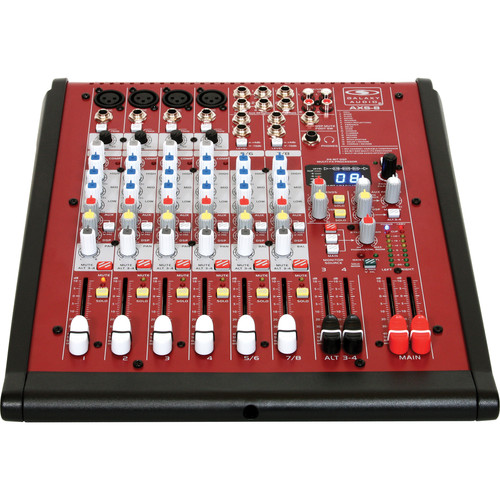 Galaxy Audio AXS-8 8-Input Analog Audio Mixer