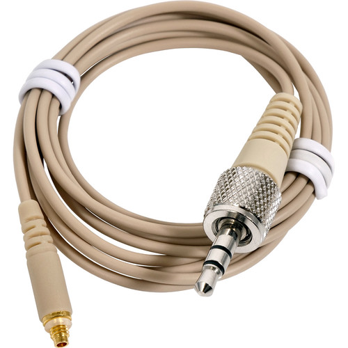 Galaxy Audio Wired 3.5mm Locking Headset Cable for (most) Sennheiser Systems (Beige)