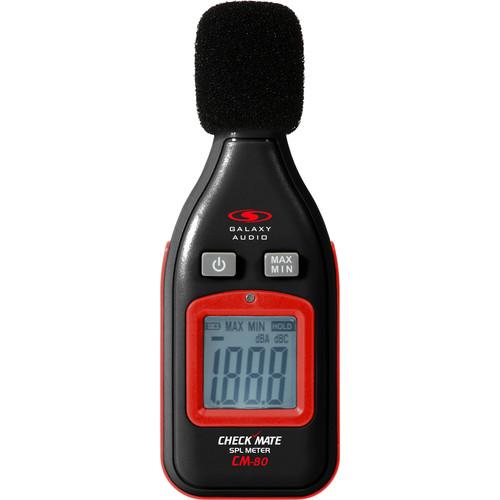 Galaxy Audio CM-80 Checkmate Series SPL Meter