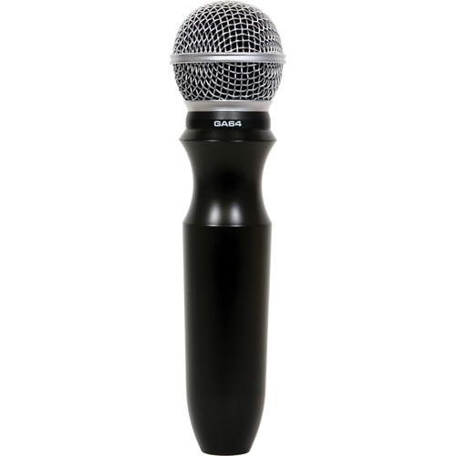 Galaxy Audio GA64 ERGOMIC Cardioid Handheld Microphone