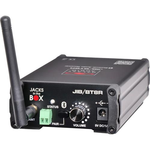 Galaxy Audio JIB/BT8R Bluetooth Audio Receiver