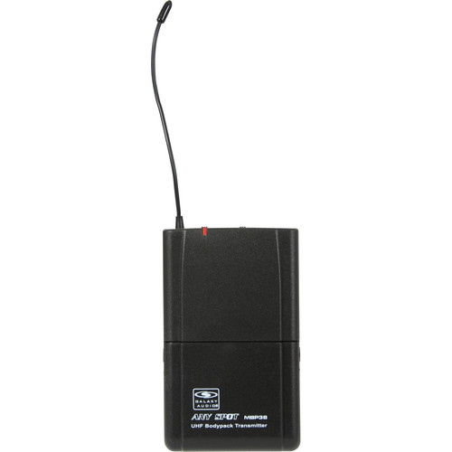 Galaxy Audio MBP38 Bodypack UHF Transmitter (584 to 607 MHz)