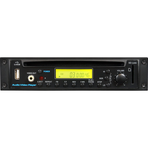 Galaxy Audio DVD, CD & MP3 Player with Wireless Remote Control