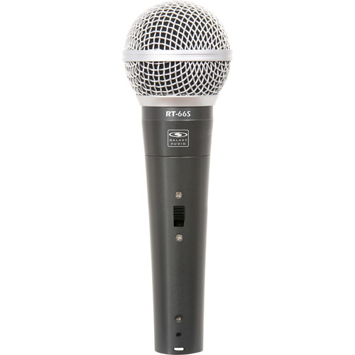 Galaxy Audio RT-66SX Wired Handheld Microphone with On/Off Switch