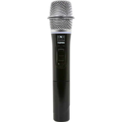 Galaxy Audio TQHH Wireless Handheld Microphone Transmitter for Travel Quest 8