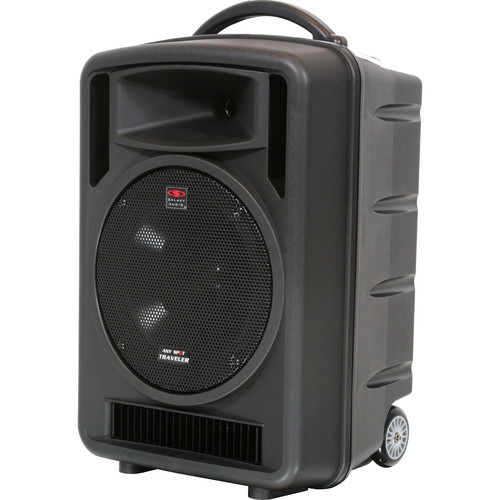 "Galaxy Audio TV10 Any Spot Traveler with 10"" Woofer Portable PA System (640-660 MHz)"