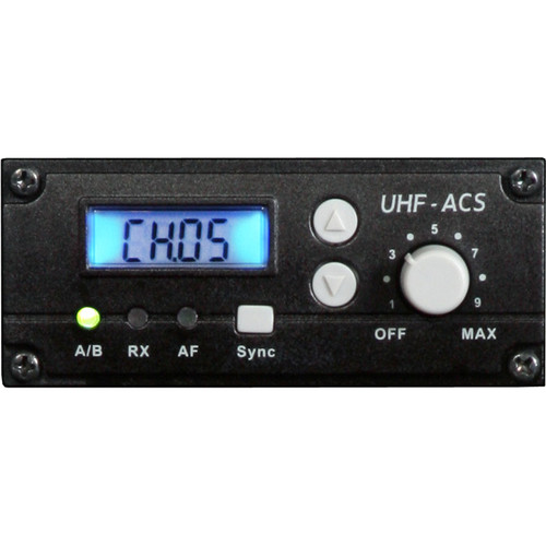Galaxy Audio TV5-REC Single Receiver for Traveler Series Portable PA Systems