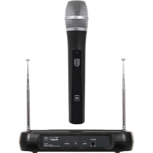 Galaxy Audio Handheld Diversity Dynamic VHF Wireless Microphone System (V60: 174.5MHz)