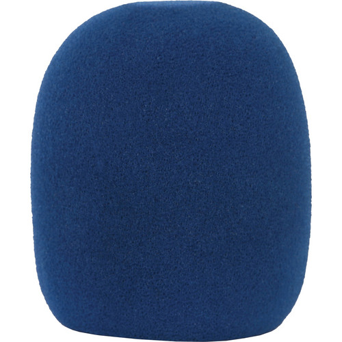 Galaxy Audio WS-HU Windscreen for Wired Handheld Microphones (Blue)