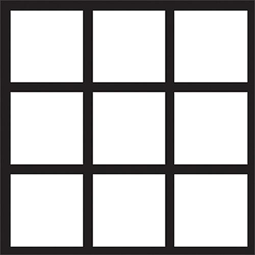 Gam Three Panel French Window Cookie Roll (4.0 x 12')