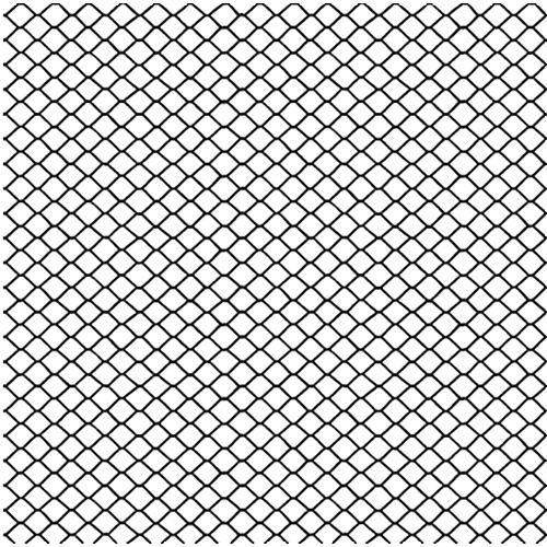 Gam Three Panel Chain Link Fence Cookie Roll (4.0 x 12')