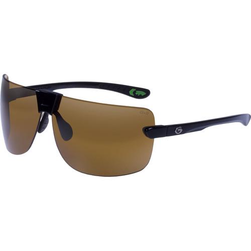 Gargoyles Novus Ballistic Protection Sunglasses (Black Frame, Brown Lens)