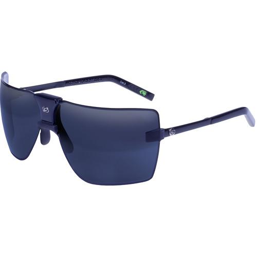 Gargoyles Classic Sunglasses (Black Frame, Black Ice/Silver Lenses)